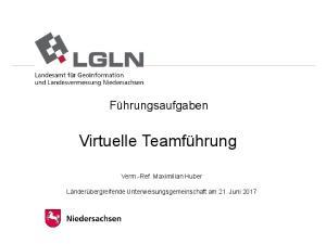 Virtuelle Teamführung