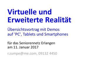 Virtuelle und Erweiterte Realität