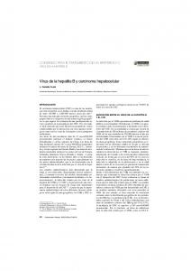 Virus de la hepatitis B y carcinoma hepatocelular