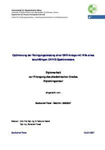 VIS-Spektrometers
