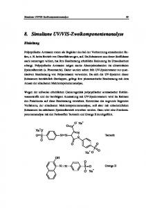 VIS-Zweikomponentenanalyse