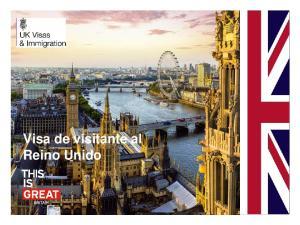 Visa de visitante al Reino Unido