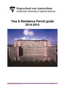 Visa & Residence Permit guide