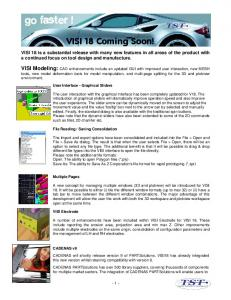 VISI 18 Coming Soon!