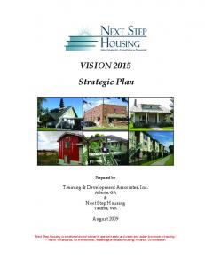 VISION 2015 Strategic Plan
