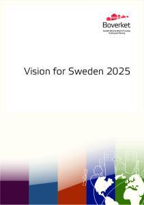 Vision for Sweden 2025