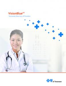 VisionBlue SM Tennessee Directory of Providers