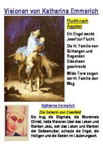 Visionen von Katharina Emmerich