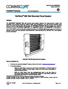 VisiPatch 360 Wall Mounted Panel System