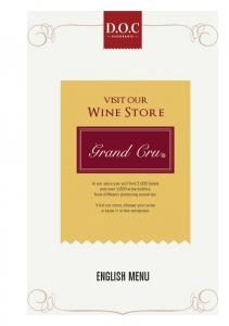 VISIT OUR Wine Store