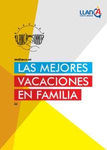 visitllanca.cat LAS MEJORES VACACIONES EN FAMILIA