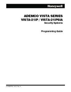 VISTA-21iPSIA Security Systems