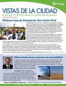VISTAS DE LA CIUDAD NOTICIAS Y EVENTOS PARA LA CIUDAD DE HILLSBORO