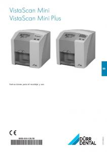 VistaScan Mini VistaScan Mini Plus