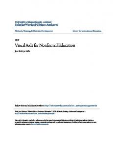 Visual Aids for Nonformal Education