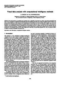 Visual data analysis with computational intelligence methods