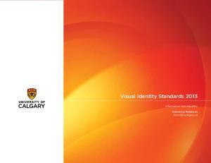 Visual Identity Standards 2013