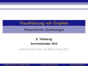 Visualisierung von Graphen
