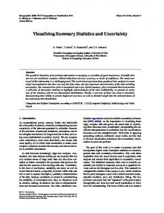 Visualizing Summary Statistics and Uncertainty