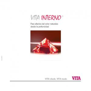 VITA INTERNO. Para efectos del color naturales desde la profundidad. VITA shade, VITA made. Version: 06.13