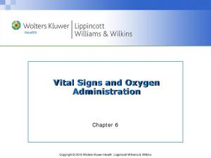 Vital Signs and Oxygen Administration