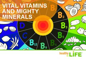 VITAL VITAMINS AND MIGHTY MINERALS