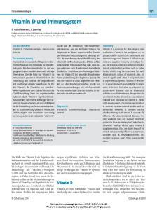 Vitamin D und Immunsystem