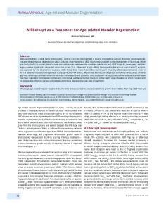 Vitreous Age-related Macular Degeneration
