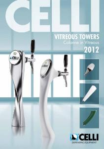 VITREOUS TOWERS. Colonne in Vitreous 2012