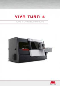 VIVA Turn 4. Partner for your metal-cutting solution