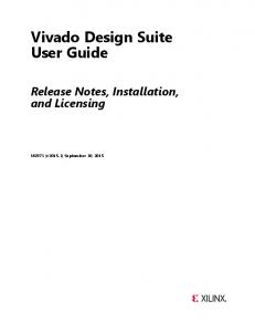 Vivado Design Suite User Guide