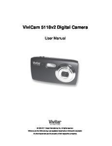 ViviCam 5118v2 Digital Camera