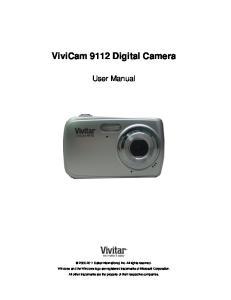 ViviCam 9112 Digital Camera