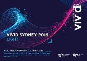 VIVID SYDNEY 2016 LIGHT
