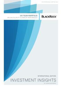 vix your portfolio Selling Volatility to Improve Performance