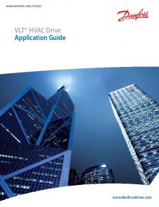 VLT HVAC Drive Application Guide