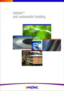 VMZINC and sustainable building