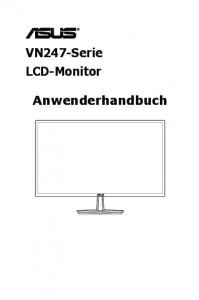 VN247-Serie LCD-Monitor. Anwenderhandbuch