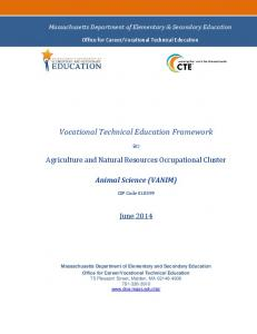 Vocational Technical Education Framework