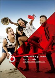 Vodacom Group Limited Interim results