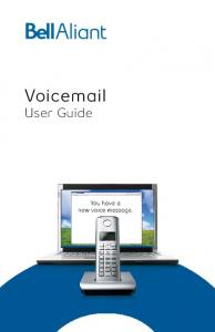 Voic User Guide 1