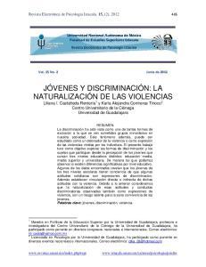 Vol. 15 No. 2 Junio de 2012