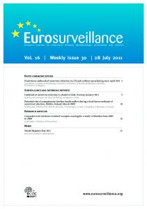 Vol. 16 Weekly issue July 2011