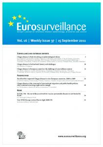 Vol. 16 Weekly issue September 2011