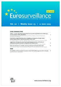 Vol. 20 Weekly issue June 2015