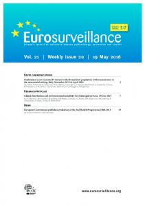 Vol. 21 Weekly issue May 2016
