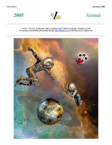 Vol. 4 No. 6 December 2005