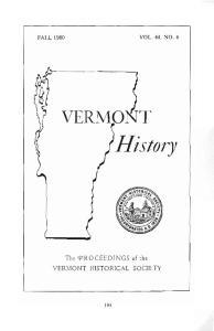 VOL. 48, NO.4 FALL History. The