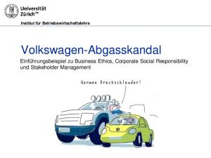 Volkswagen-Abgasskandal