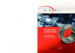 vollrollige & axiale zylinderrollenlager full complement & axial cylindrical roller bearings